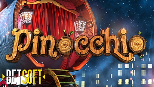 Pinocchio from Betsoft