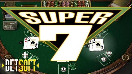 Casino Table Games Super 7 Blackjack
