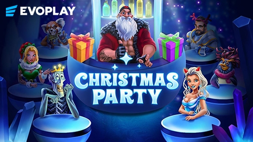 Casino 3D Slots Christmas Party
