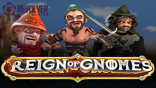 Play online casino 3D Slots Reign of Gnomes