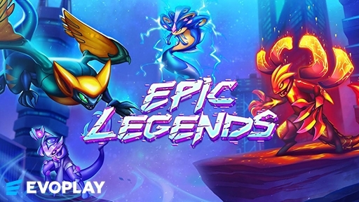 Play online casino 3D Slots Epic Legends