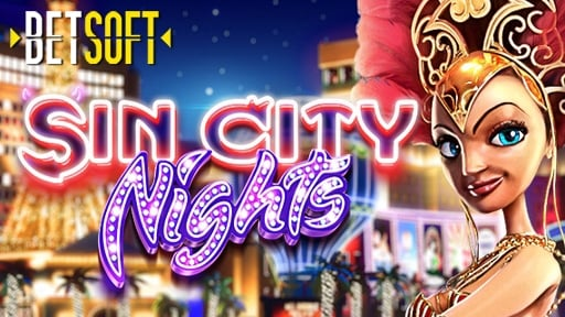 Casino 3D Slots Sin City Nights