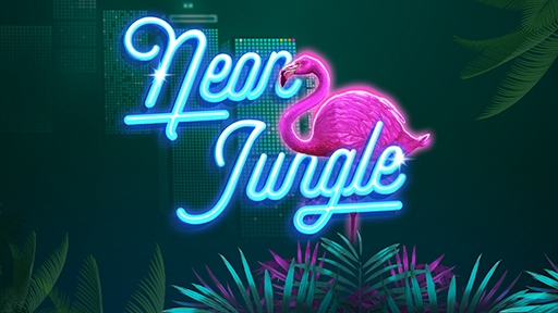 Casino Slots Neon Jungle
