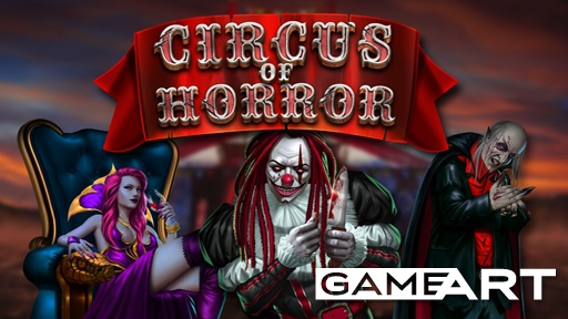 Play online casino Slots Circus of horror