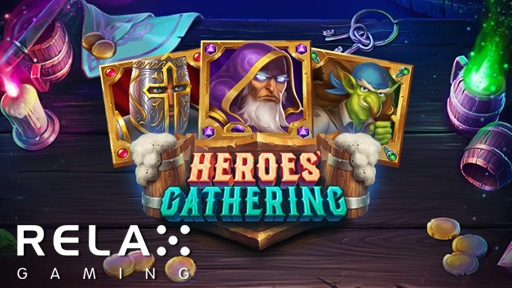 Play online casino 3D Slots Heroes Gathering