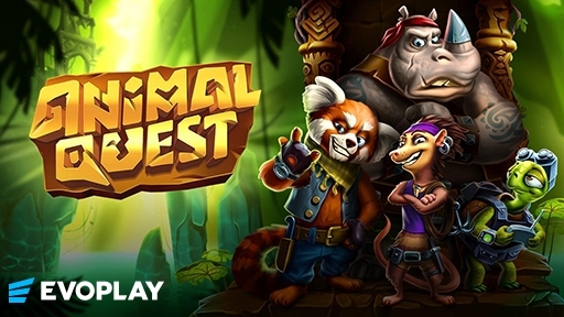 Casino 3D Slots Animal Quest