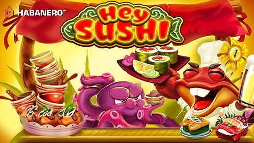 Play online Casino Hey Sushi